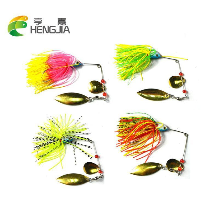 19.8G Hard Metal Lead Head Spinnerbaits Sea Sinking Buzzbaits Musky Catfish-Spinnerbaits-Bargain Bait Box-Bargain Bait Box