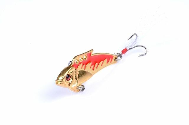 1Pc 8G Fishing Vibes Lipless Ultralight Micro Lures Trout Lures Hard Body Bait-Blade Baits-Bargain Bait Box-3-Bargain Bait Box