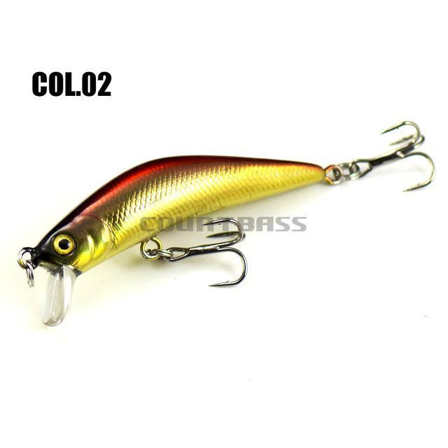 1Pc Countbass Minnow Hard Lure 57Mm, Trout Fishing Bait, Freshwater Bass-countbass Fishing Tackles Store-02-Bargain Bait Box
