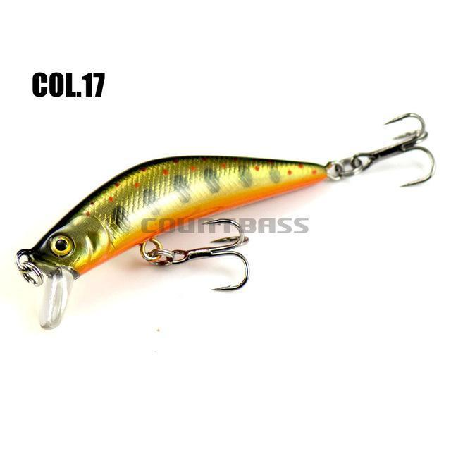 1Pc Countbass Minnow Hard Lure 57Mm, Trout Fishing Bait, Freshwater Bass-countbass Fishing Tackles Store-17-Bargain Bait Box