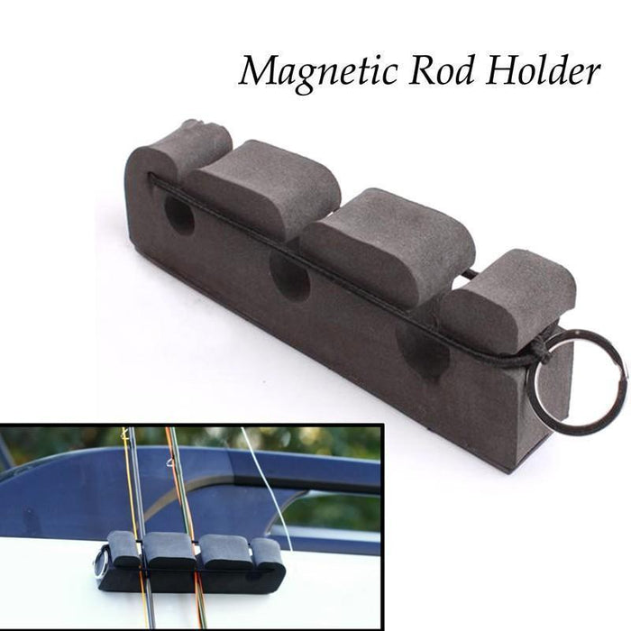 1Pc Foma Fly Fishing Rod Magnetic Holder & Stand Car Panels Attaches Fishing Rod-Fishing Rod Storage Racks-Sports-Favor-Bargain Bait Box