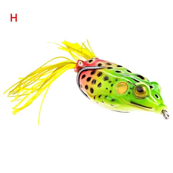 1Pc Frog Lures Fishing Bait Tackle Hard Bait-Frog Baits-Bargain Bait Box-Blue-Bargain Bait Box