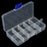 1Pc Hook Bait Storage Adjustable 10 Compartments Plastic Fishing Tackle Box-Compartment Boxes-Bargain Bait Box-Bargain Bait Box