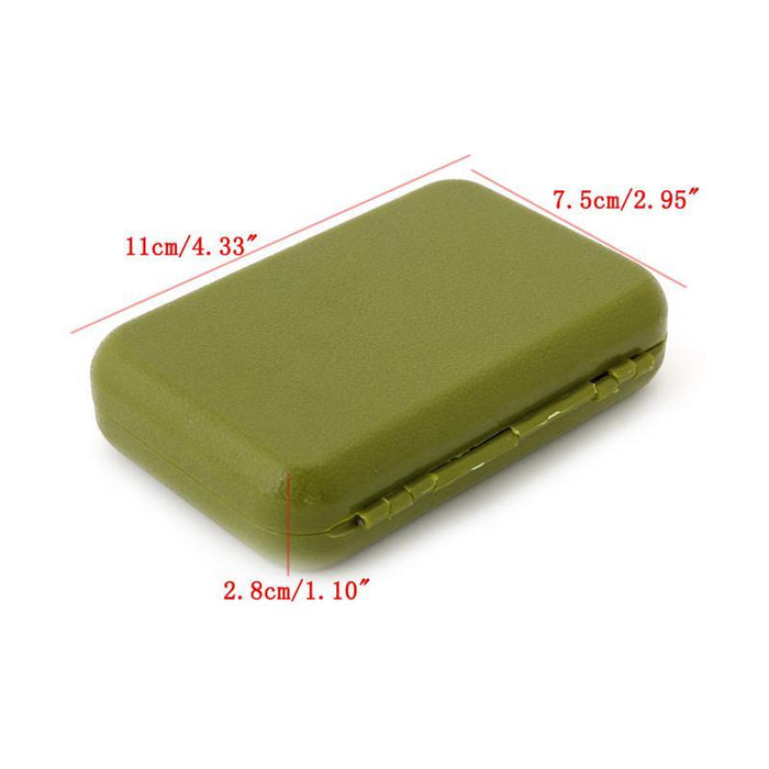1Pc Waterproof Plastic Storage Case Box Fly Fishing Lure Hook Bait Tackle Box-Sexy bus-Bargain Bait Box