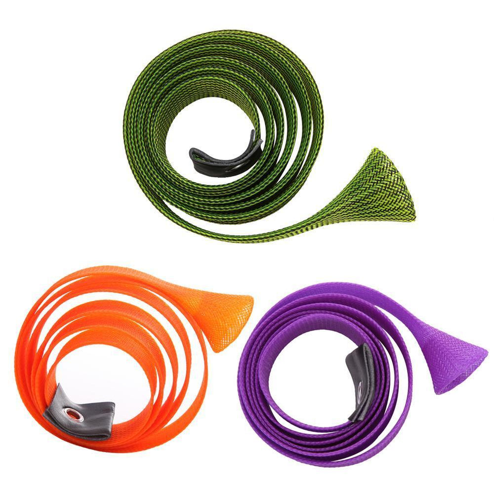 1Pcs 170Cm Casting Fishing Rod Cover Pesca Rod Sleeves Pole Glove Clothes-Agreement-Purple-Bargain Bait Box