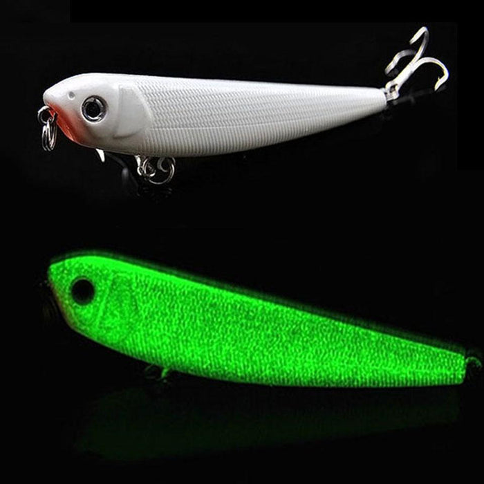 1Pcs 3D Sinking Pencil 85Mm 8G Night Glow In Dark Luminous Bait Hard Lure Bait-Glow Baits-Bargain Bait Box-Bargain Bait Box