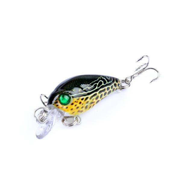 1Pcs 4.5Cm 4G Crank Fishing Lure Hard Swimbait Pesca 6 Colors Wobbler Isca-AOLIFE Sporting Store-2-Bargain Bait Box