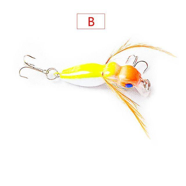 1Pcs 4Cm 3.5G Grasshopper Insects Fishing Lures Sea Fishing Tackle Flying Jig-WDAIREN fishing gear Store-A-Bargain Bait Box