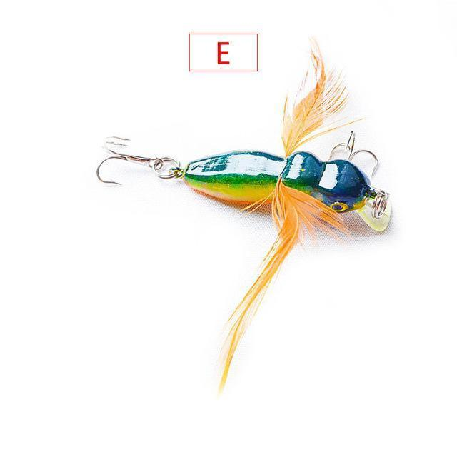 1Pcs 4Cm 3.5G Grasshopper Insects Fishing Lures Sea Fishing Tackle Flying Jig-WDAIREN fishing gear Store-G-Bargain Bait Box