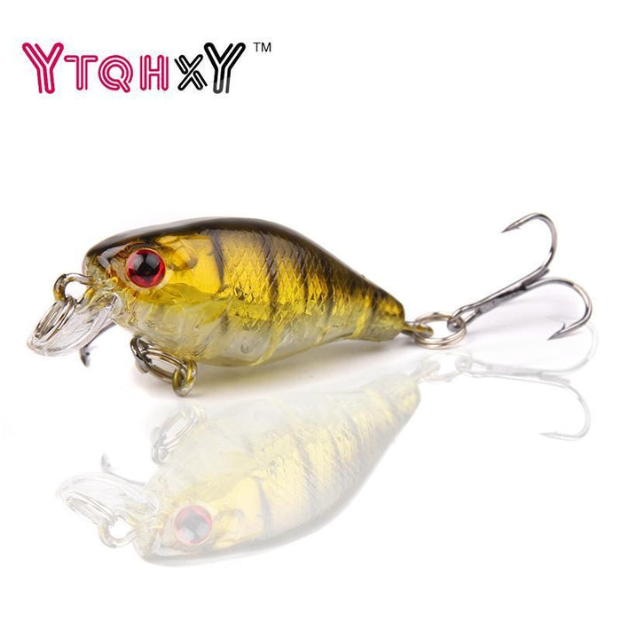 1Pcs 4Cm 4.2G Bass Fishing Lures Crank Bait Hard Bait Artificial Lures Japan-YTQHXY Fishing (china) Store-A-Bargain Bait Box