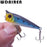 1Pcs 5Cm 4.5G Mini Crank Bait Popper Fishing Lures 3D Eyes Bait Wobblers Poper-WDAIREN fishing gear Store-A-Bargain Bait Box