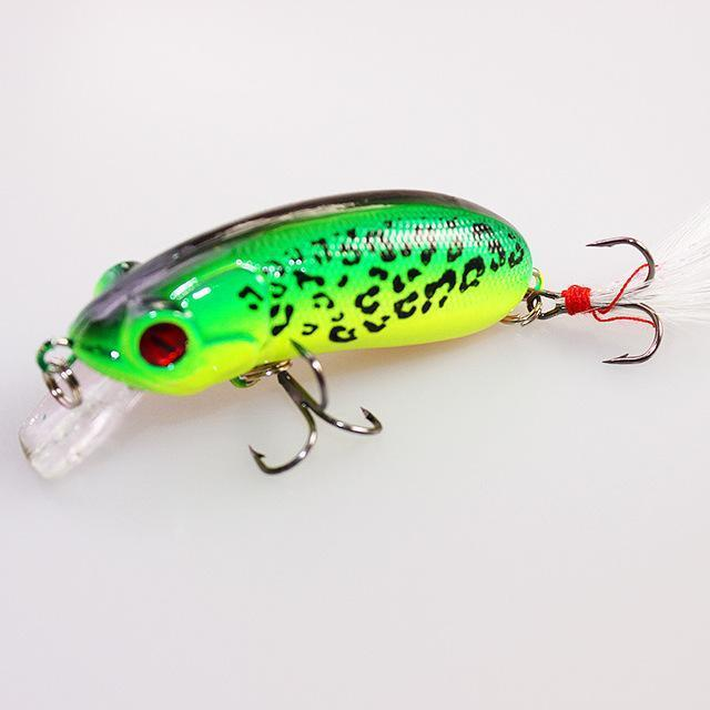 1Pcs 6Cm 10G Fishing Lures Crank Bait Swimming Crank Baits Artificial Swim-YTQHXY Fishing (china) Store-B-Bargain Bait Box