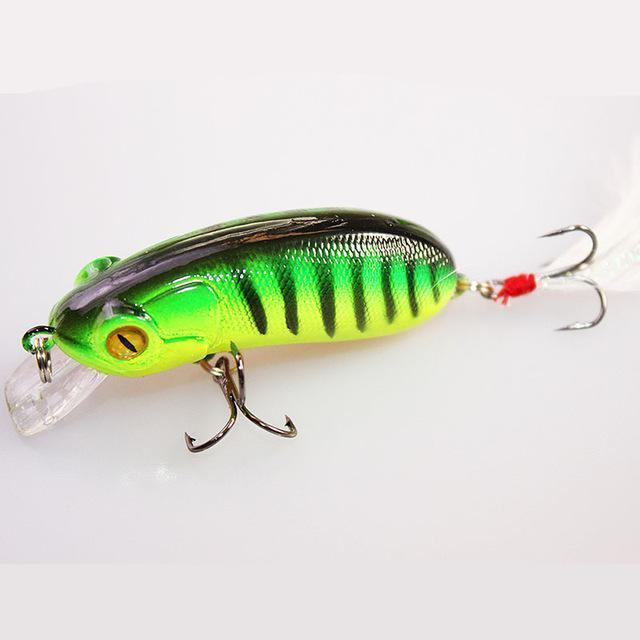1Pcs 6Cm 10G Fishing Lures Crank Bait Swimming Crank Baits Artificial Swim-YTQHXY Fishing (china) Store-H-Bargain Bait Box