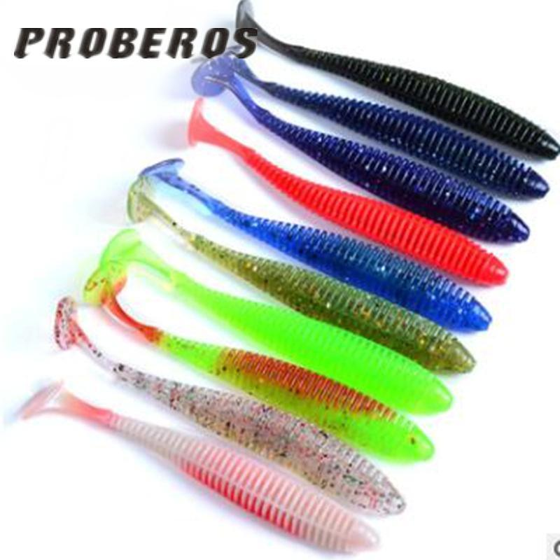 1Pcs Artificial Carp Soft Lures Worm Gear With Salt Smel Silicone Fish Bait-China Fishing knight Store-Bargain Bait Box