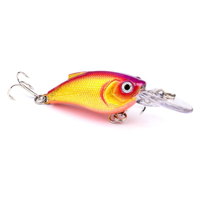 1Pcs Beginner Crank Lure 7Cm 11G Easy Use For Sea Carp Fly Fishing Bait-Deep Sea Sporting Goods-1-Bargain Bait Box