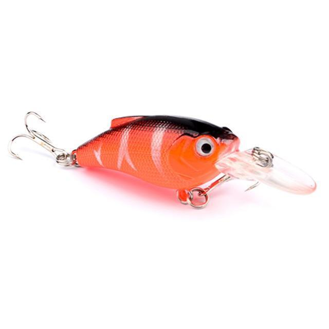 1Pcs Beginner Crank Lure 7Cm 11G Easy Use For Sea Carp Fly Fishing Bait-Deep Sea Sporting Goods-4-Bargain Bait Box