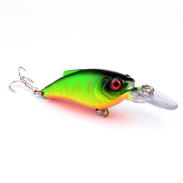 1Pcs Beginner Crank Lure 7Cm 11G Easy Use For Sea Carp Fly Fishing Bait-Deep Sea Sporting Goods-7-Bargain Bait Box