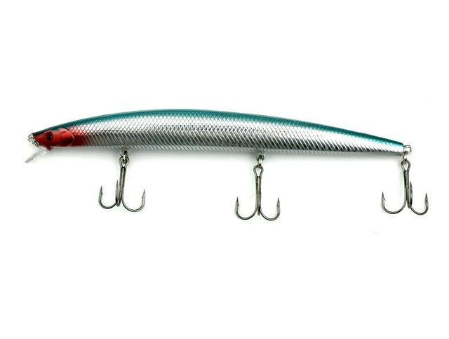 1Pcs Big Game Minnow Fishing Lure 18Cm 26G 3 Hooks Long Fishing Bait Wobbler-Musky & Pike Baits-Bargain Bait Box-10-Bargain Bait Box