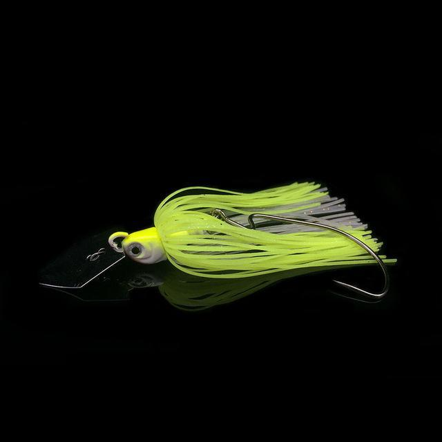 1Pcs Buzz Bait Lead Head 10G Fishing Bait Metal Spoons Spinner Bait With Crank-Buzzbaits-Bargain Bait Box-5-Bargain Bait Box