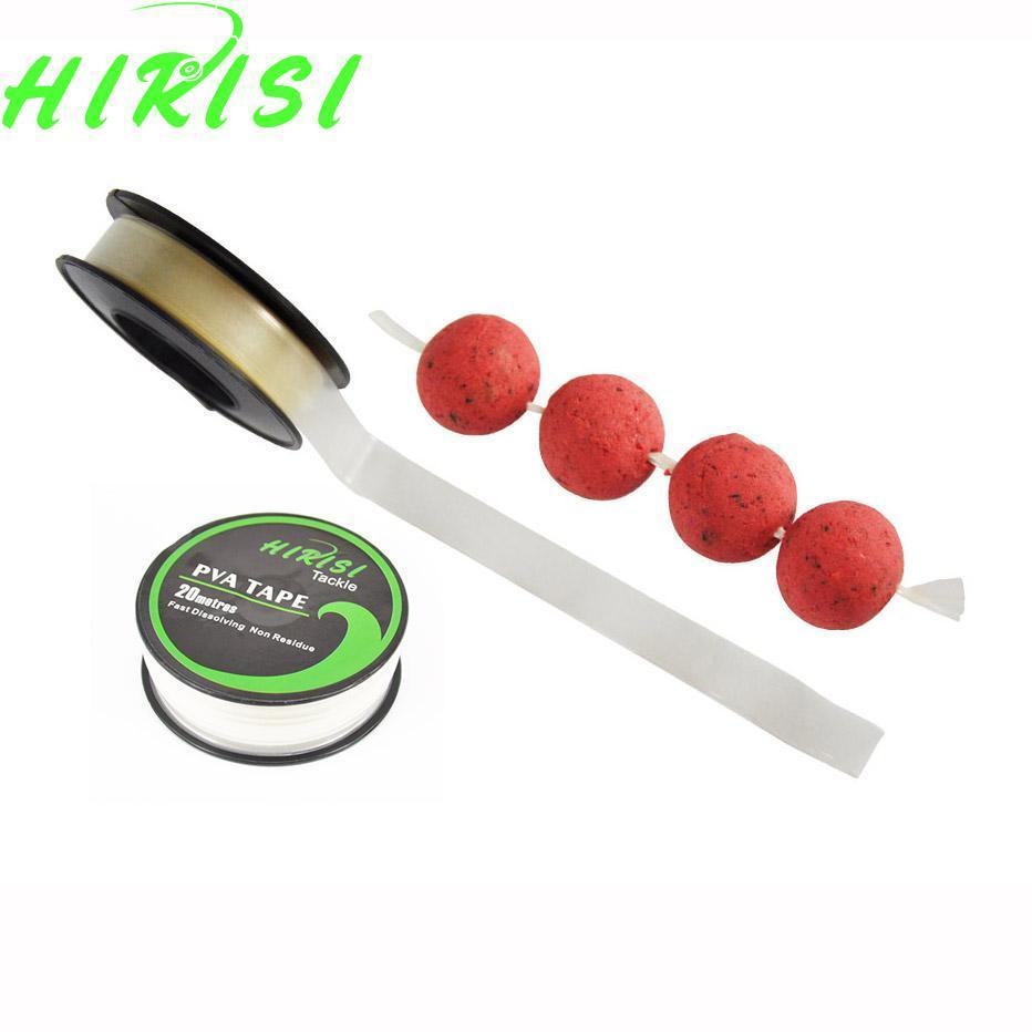 1Pcs Carp Fishing Accessories Pva Tape String For Boilie Size 10Mm X 20M-hirisi Official Store-Bargain Bait Box