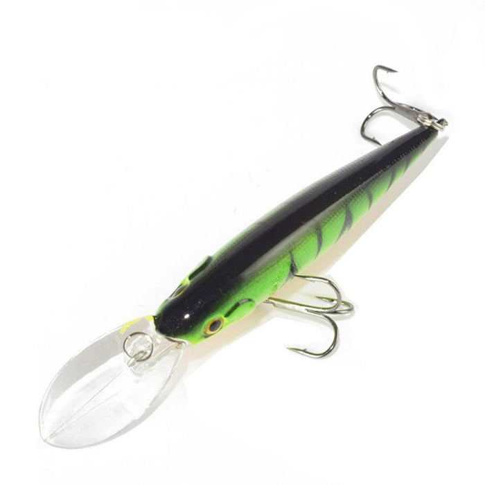 1Pcs Fishing Lure Bait Minnow With Treble Hook Isca Artificial Bass Fishing-Mr. Fish Store-001-Bargain Bait Box
