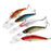 1Pcs Laser Wobblers Fishing Tackle 3D Eyes Sinking Minnow Fishing Lure Crankbait-LooDeel Outdoor Sporting Store-1-Bargain Bait Box