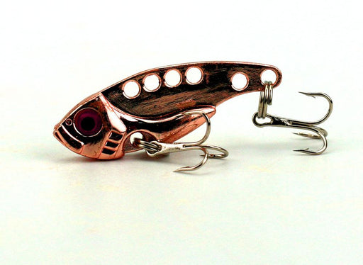 1Pcs Metal Vib Rattle Lures 4Cm 7G Hard Hooks Fishing S-Blade Baits-Bargain Bait Box-1-Bargain Bait Box