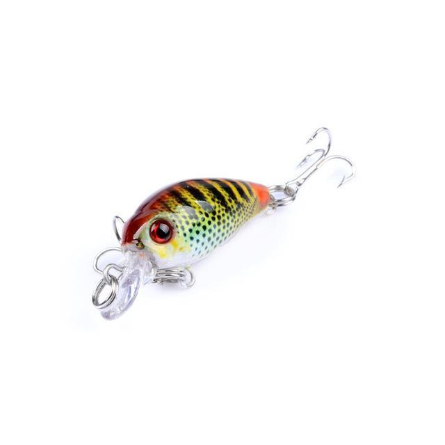 1Pcs Mini Fishing Lure Pesca Iscas Artificiais Wobbler 4.5Cm 4G Crankbaits-LooDeel Outdoor Sporting Store-6-Bargain Bait Box