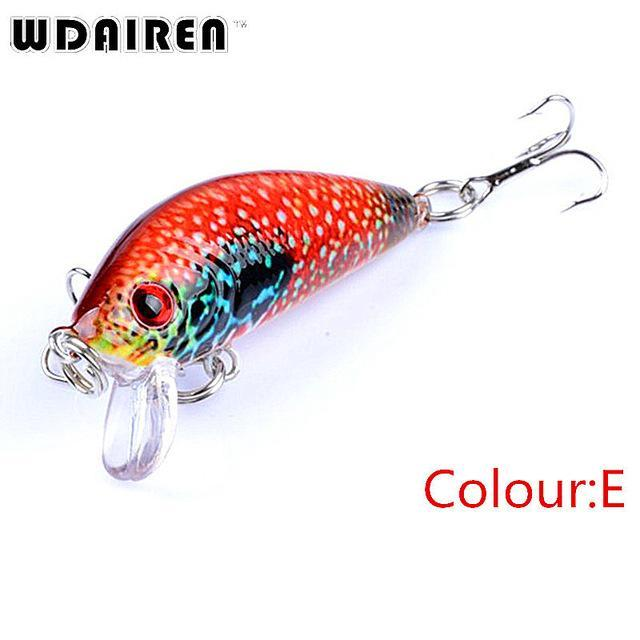 1Pcs Mini Minnow Hard Bait 3.8G 4.5Cm Floating Crankbait Fishing Lures Pesca-PROLEURRE FISHING Store-E-Bargain Bait Box