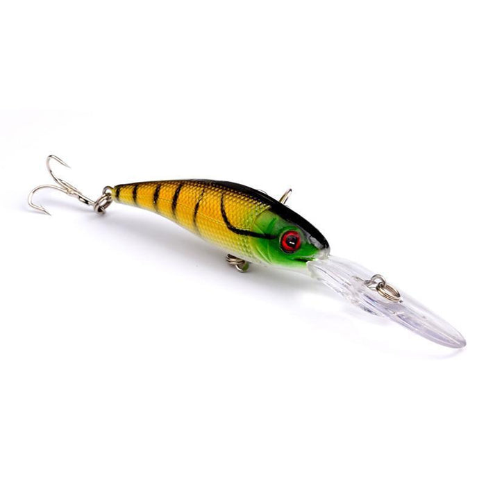 1Pcs Minnow Fishing Lures Bass Fresh Salt Water 10Cm 7.5G Japan Hard Bait Sea 3D-WDAIREN Fishing Store-A-Bargain Bait Box