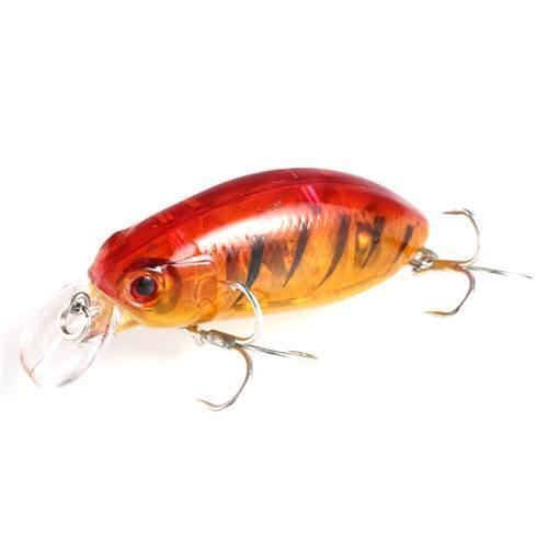 1Pcs Minnow Lure 5Cm 10G Artificial Hard Bait Big Wobblers Fly Fishing Lures-Tuya Fishing Store-Color2-Bargain Bait Box