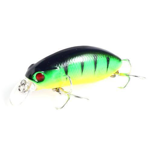 1Pcs Minnow Lure 5Cm 10G Artificial Hard Bait Big Wobblers Fly Fishing Lures-Tuya Fishing Store-Color8-Bargain Bait Box