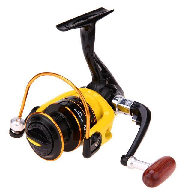 1Pcs Spinning Reel Aluminum Spool Fishing Reel Fish Tackle Wheel For Fish-Spinning Reels-fixcooperate-HD3000-Bargain Bait Box