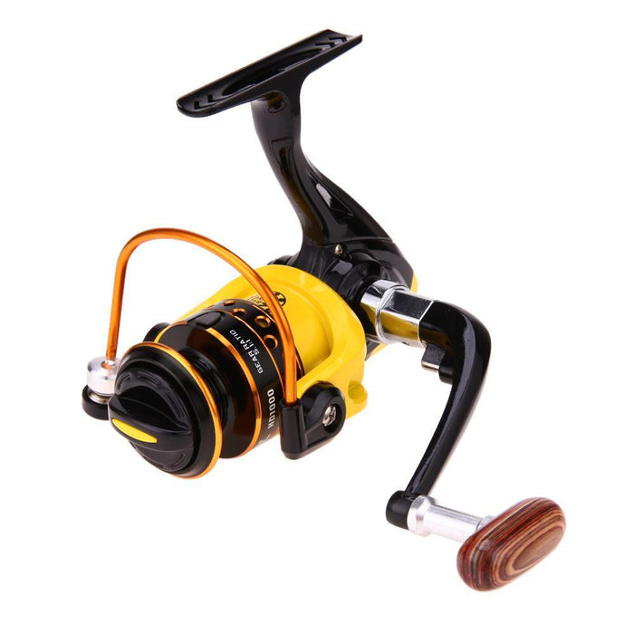 1Pcs Spinning Reel Aluminum Spool Fishing Reel Fish Tackle Wheel For Fish-Spinning Reels-fixcooperate-HD5000-Bargain Bait Box