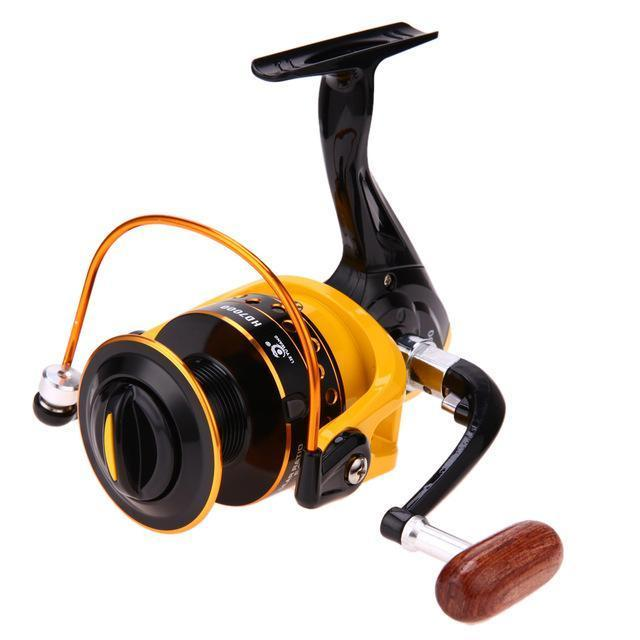 1Pcs Spinning Reel Aluminum Spool Fishing Reel Fish Tackle Wheel For Fish-Spinning Reels-fixcooperate-HD7000-Bargain Bait Box