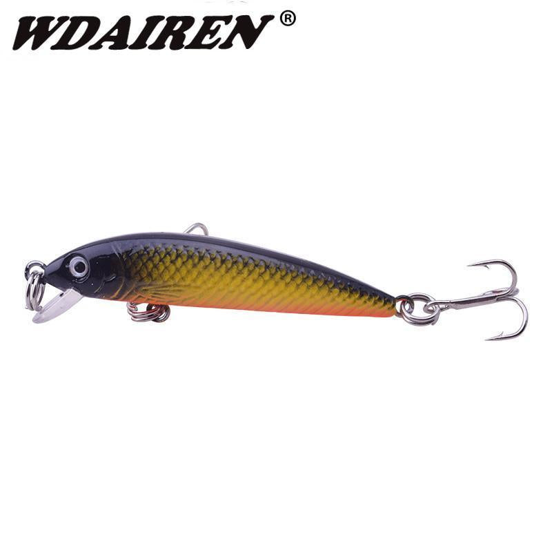 1Pcs Topwater Swim Wobbler Fishing Lure 5.5Cm 3.5G Artificial Hard Crank Bait-WDAIREN fishing gear Store-A-Bargain Bait Box