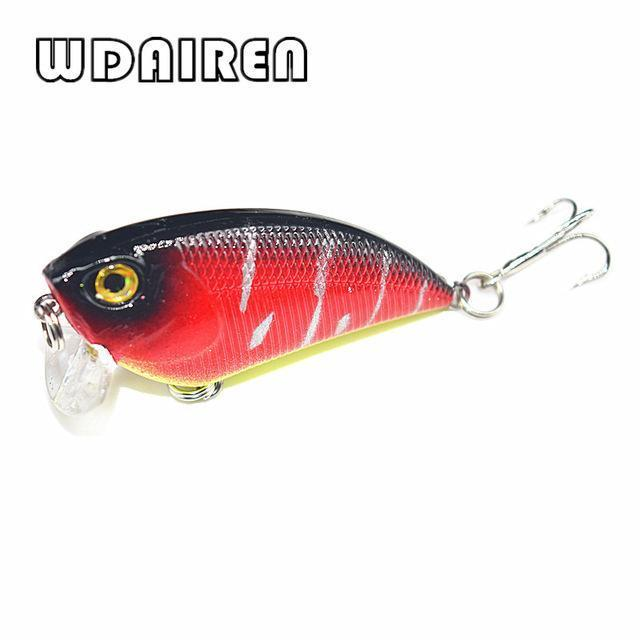 1Pcs Wobbler Crankbait 6Cm 6.7G Fishing Lures Plastic Hard Artificial Lure Perch-PROLEURRE FISHING Store-B-Bargain Bait Box