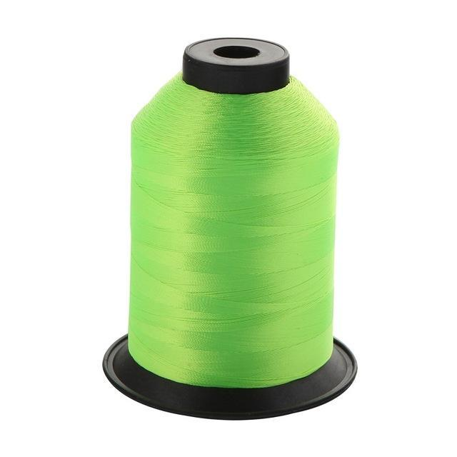 1Pcs/Pack 2000M 150D Rod Guide Ring Tying Line 11 Colors Choice Rod Diy Repair-ucatchok factory Store-Fluorescence green-Bargain Bait Box