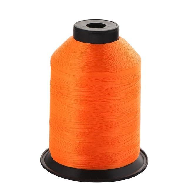 1Pcs/Pack 2000M 150D Rod Guide Ring Tying Line 11 Colors Choice Rod Diy Repair-ucatchok factory Store-Fluorescence orange-Bargain Bait Box