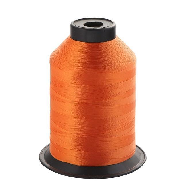 1Pcs/Pack 2000M 150D Rod Guide Ring Tying Line 11 Colors Choice Rod Diy Repair-ucatchok factory Store-Orange-Bargain Bait Box