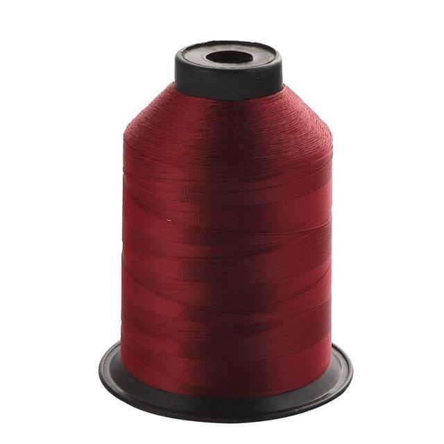 1Pcs/Pack 2000M 150D Rod Guide Ring Tying Line 11 Colors Choice Rod Diy Repair-ucatchok factory Store-Wine red-Bargain Bait Box