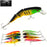 1Ps Minnow Artificial Bait For Sea Fishing Wobblers Lifelike Fishing Lure 3-JK Outdoor-C1 1PCS-Bargain Bait Box
