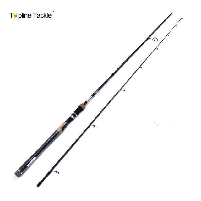 2 Pcs /Lot Topline Tackle Style Spinning Fishing Rod 2.7M And 2.4M ,2-Spinning Rods-Shop1326067 Store-2.4 m-Bargain Bait Box