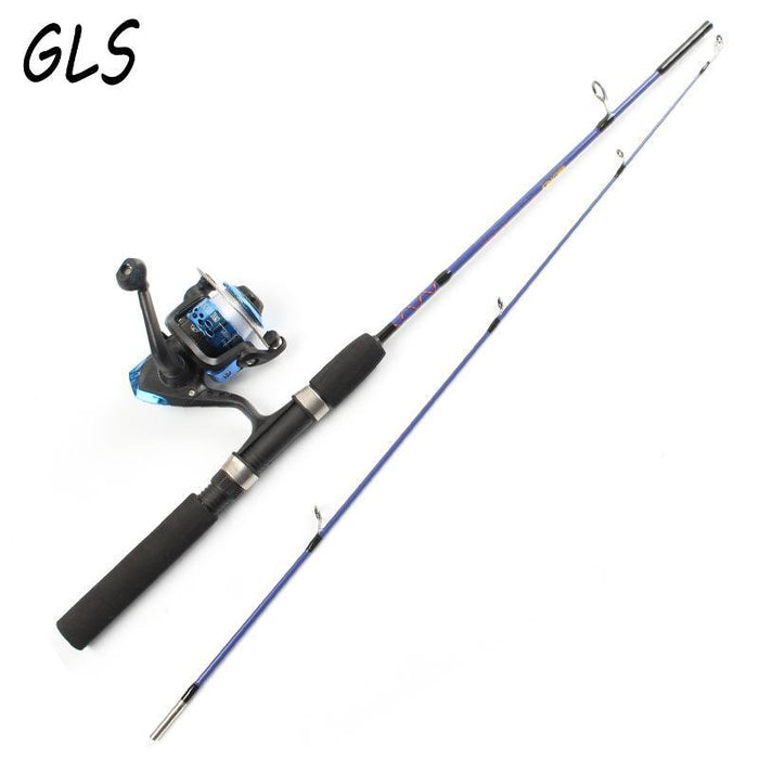 2 Tip Spinning Portable Ice Fishing Rod 1.2M/1.5M Rod And Fishing Reel And-Ice Fishing Rod & Reel Combos-Bargain Bait Box-White-Bargain Bait Box
