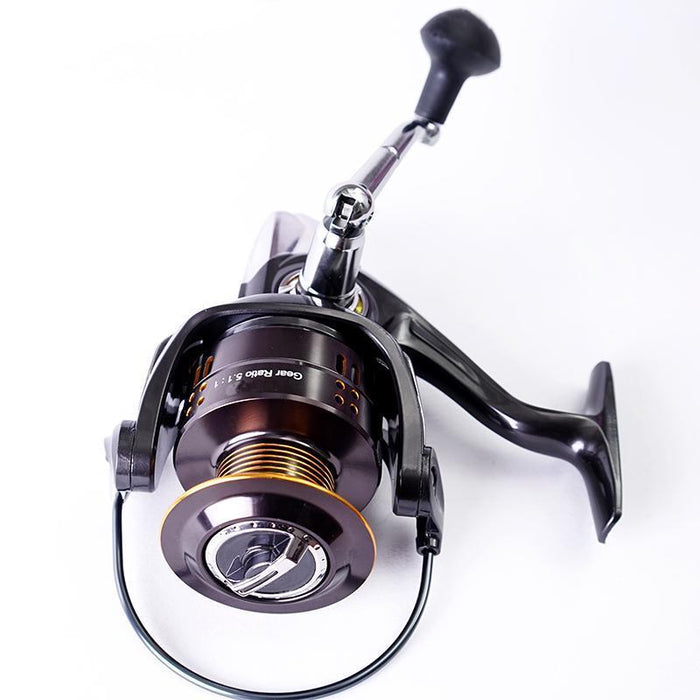 2000 Seires Spinning Fishing Reels 12+1Bb High Speed 5.2:1 Anti-Corrosive-Spinning Reels-LuckyPretty Store-2000 Series-Bargain Bait Box