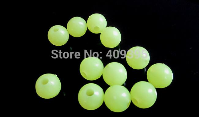 200Pcs 6Mm Fishing Beans Glow In Dark-Glow Baits-Bargain Bait Box-6mm mixed-Bargain Bait Box