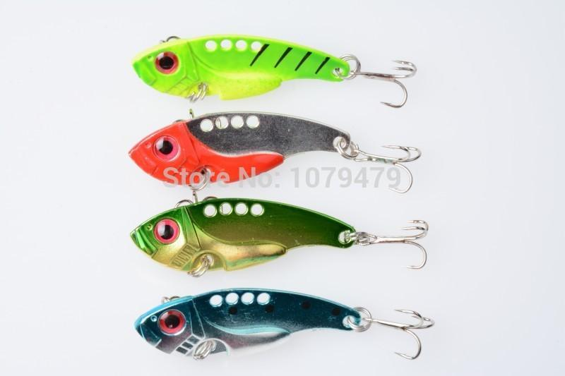 2015 Lure Metal Vib Hard Bait Fresh Water Shallow Water Bass Walleye Crappie-Blade Baits-Bargain Bait Box-Bargain Bait Box