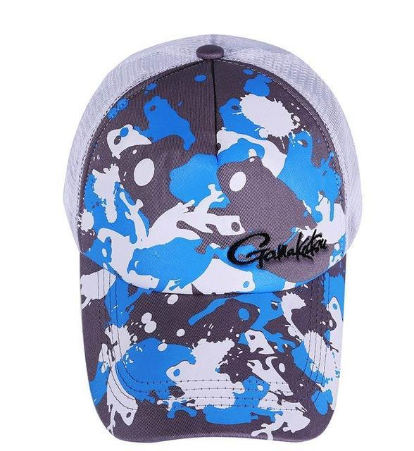 2019 Daiwa Fishing Cap Hat Sun Outdoor Sprots Breathable Anti Uv Man-Fishing Caps-Interesting Fishing Store-Blue-One Size-Bargain Bait Box