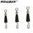 20Pcs/ Ceremony Rolling 1.2Cm/1Cm Rotation Clamp Fastener Hook And Line-WDAIREN fishing gear Store-Bargain Bait Box