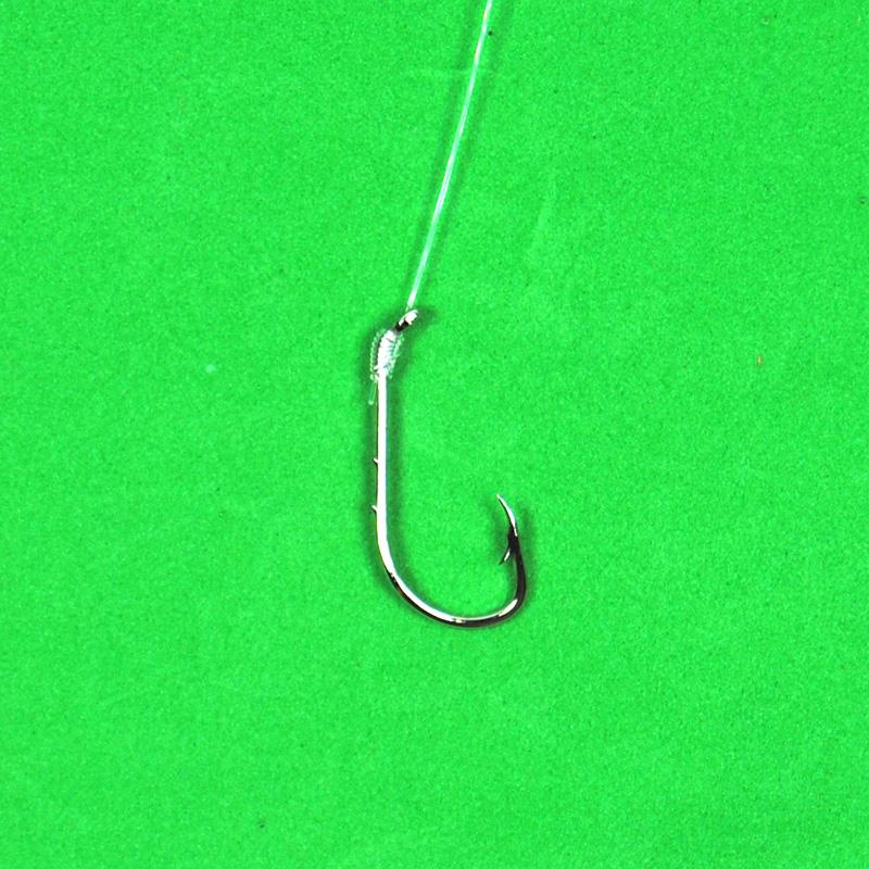 20Pcs Size 4 Snelled Hook No Loop-Snelled Hooks-Bargain Bait Box-Bargain Bait Box